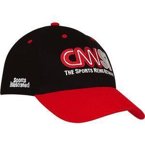 Heavy brushed cotton baseball cap