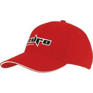 brushed cotton baseball cap