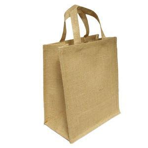 Personalised aspen jute bag