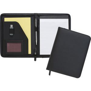 A5 zipped folio