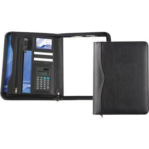 A4 Zipped Conference Folder With Calculator