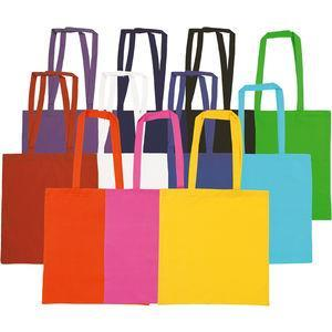 Snowdown Premium Colour Cotton Tote Bag