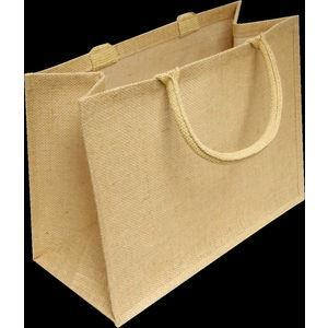 Personalised sycamore jute bag