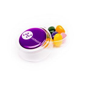Mini Round Pot of Jelly Beans