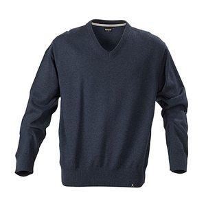 Fine knit v-neck sweater