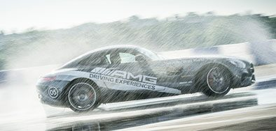 chance to win 1 of 12 Mercedes-Benz AMG track experiences