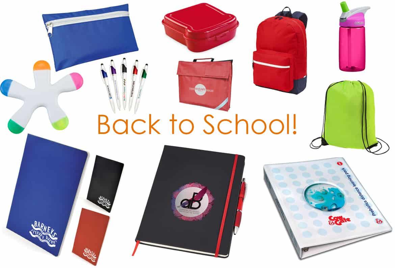 back to school merchandise