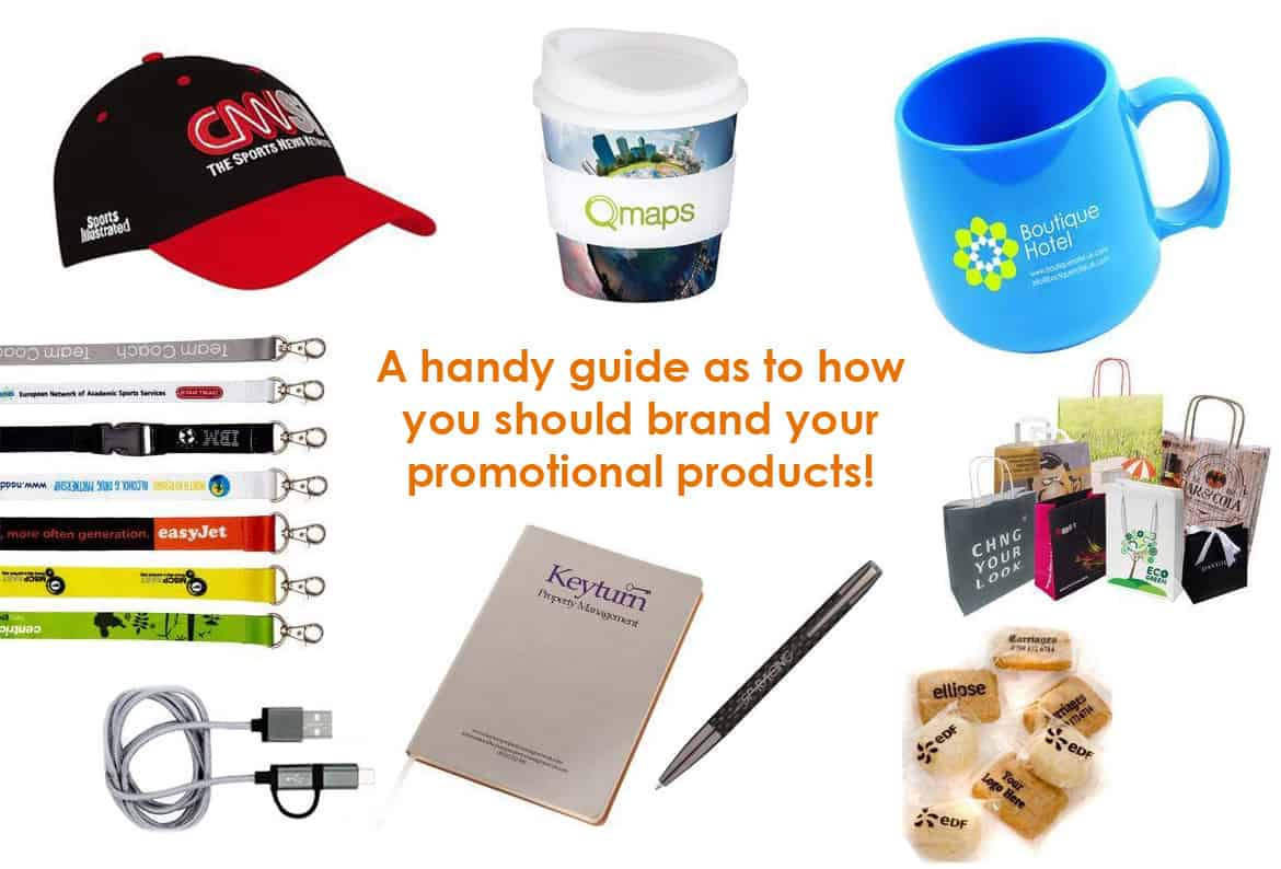 branding methods for promotional products