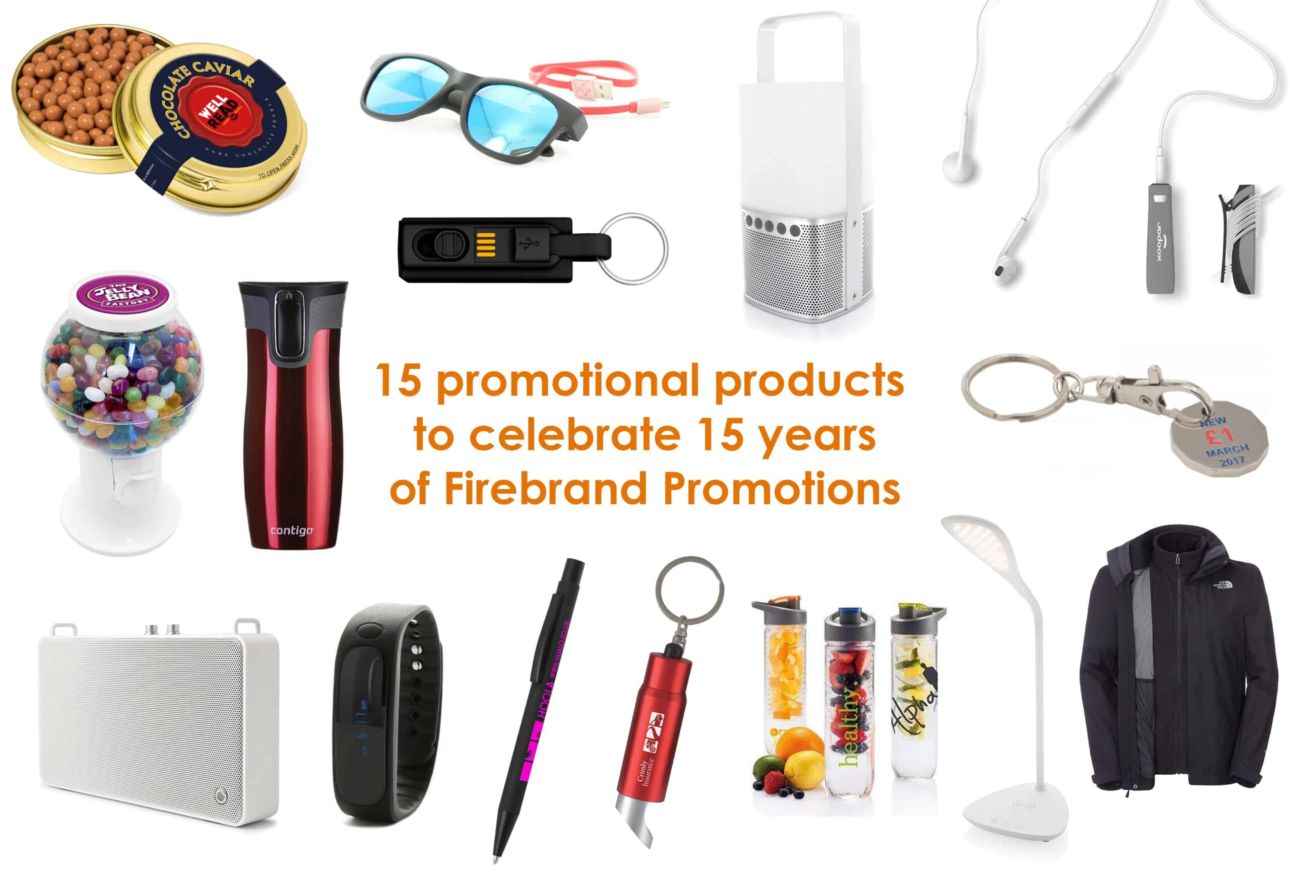 15 Promotional Products To Celebrate 15 Years