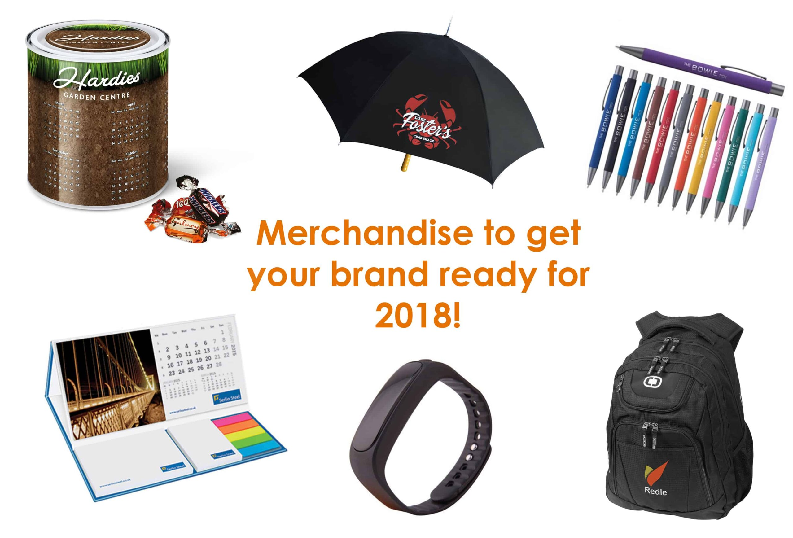 Promotional Merchandise To Get Your Brand Ready For 2018