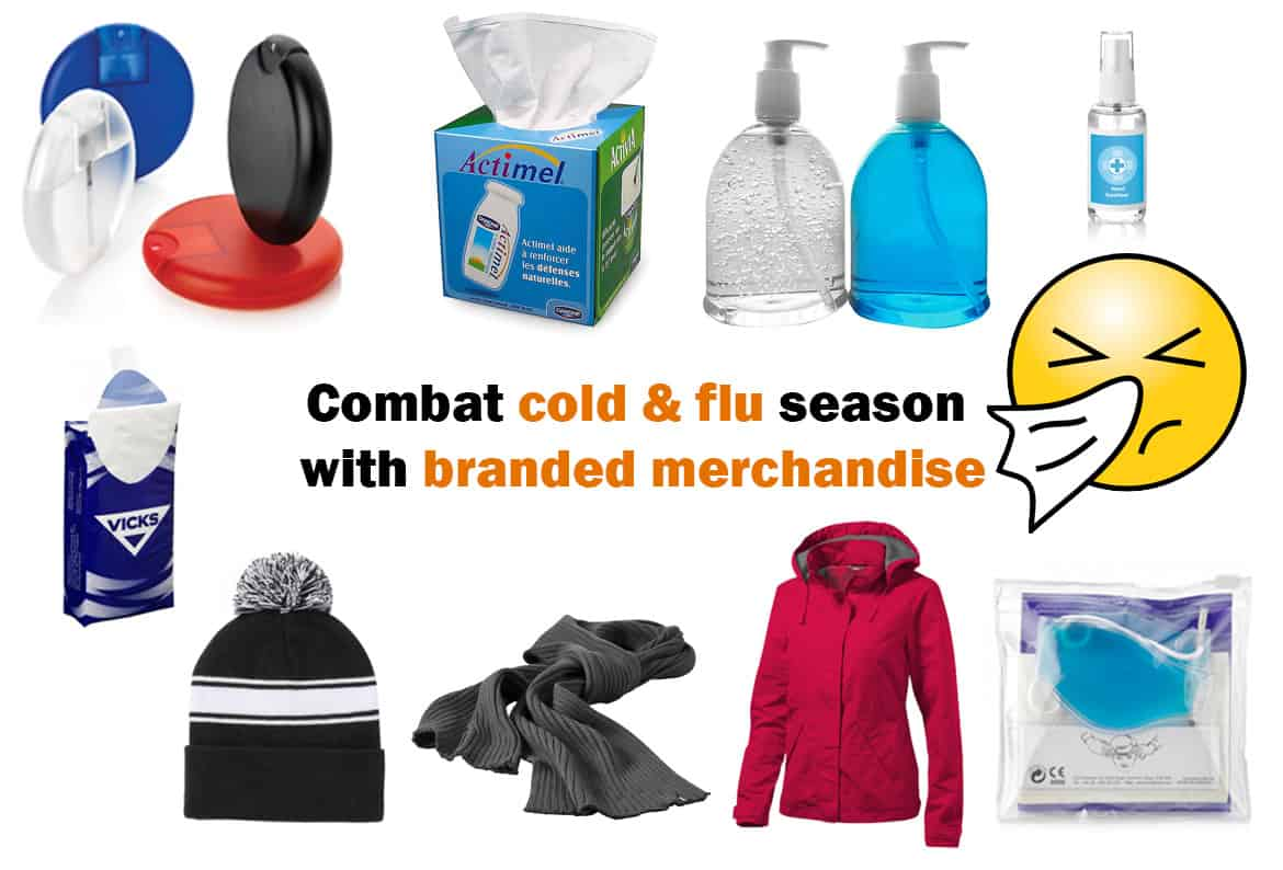 cold and flu branded merchandise