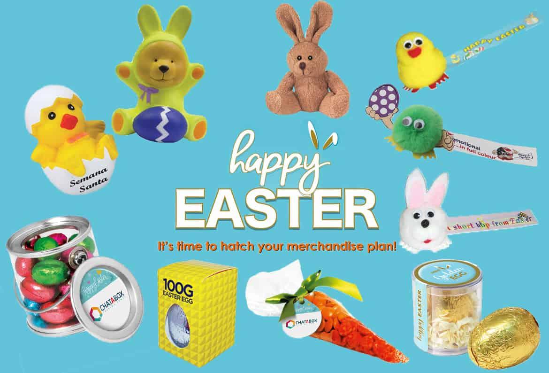 Branded Merchandise for Easter