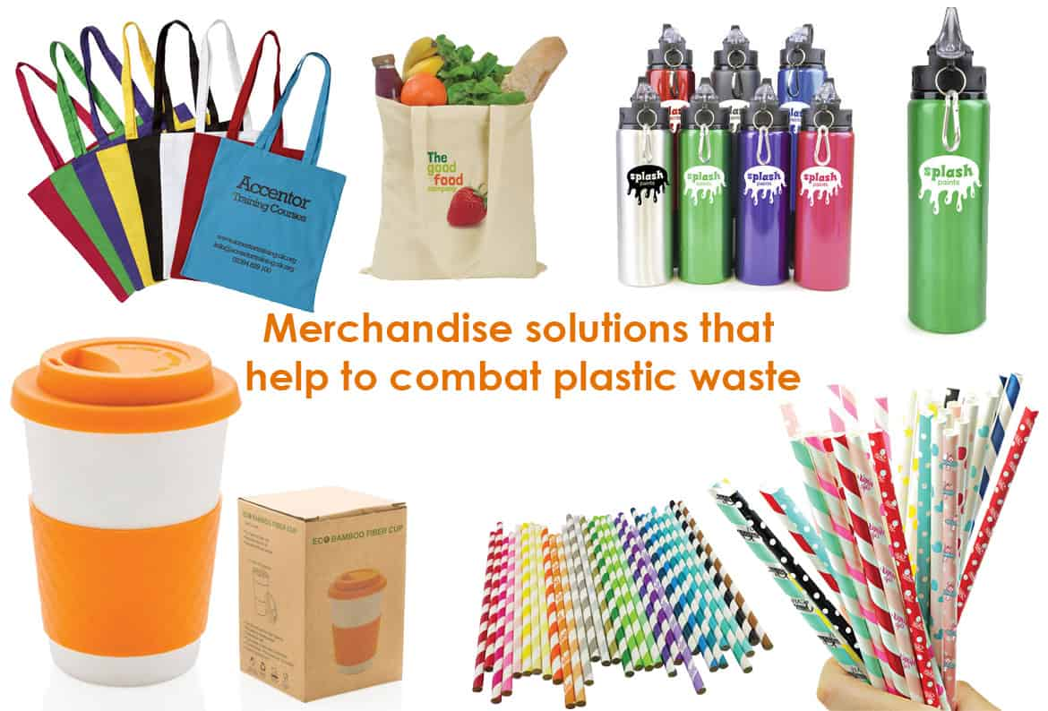 Combat Plastic Waste With Promotional Merchandise