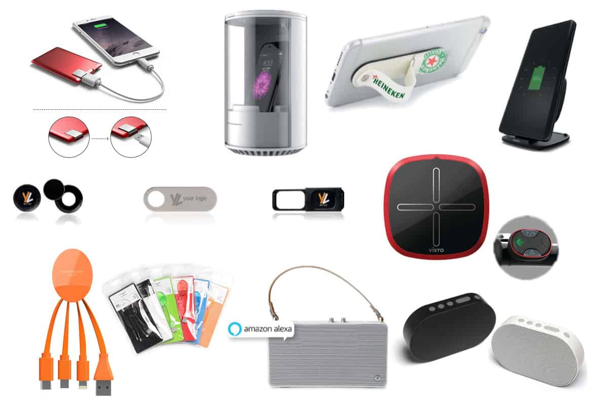 branded promotional gadgets