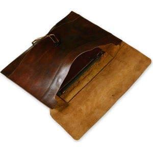 Ashbourne Full Hide Genuine Leather Envelope Case