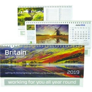 Britain and Wildlife Calendar