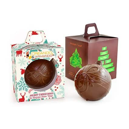 Chocolate Bauble