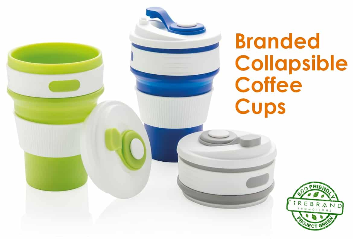 branded collapsible coffee cups firebrand promotions. Black Bedroom Furniture Sets. Home Design Ideas