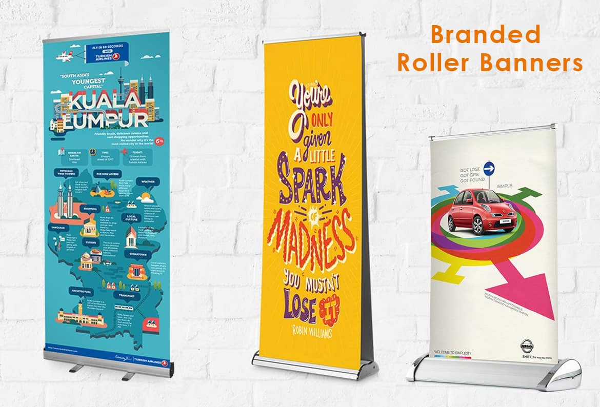 branded roller banners