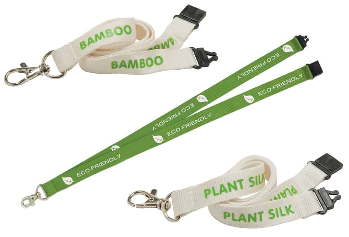 branded eco-friendly lanyards