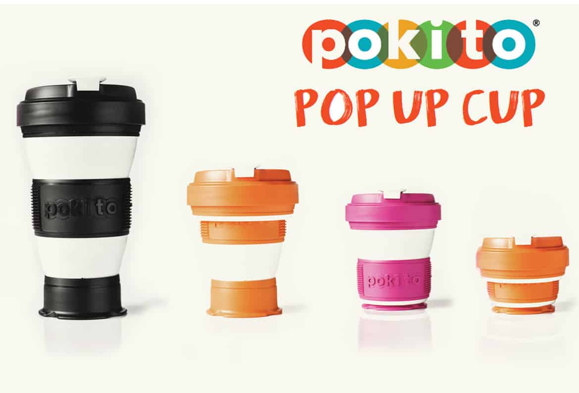 branded pokito pop up cup