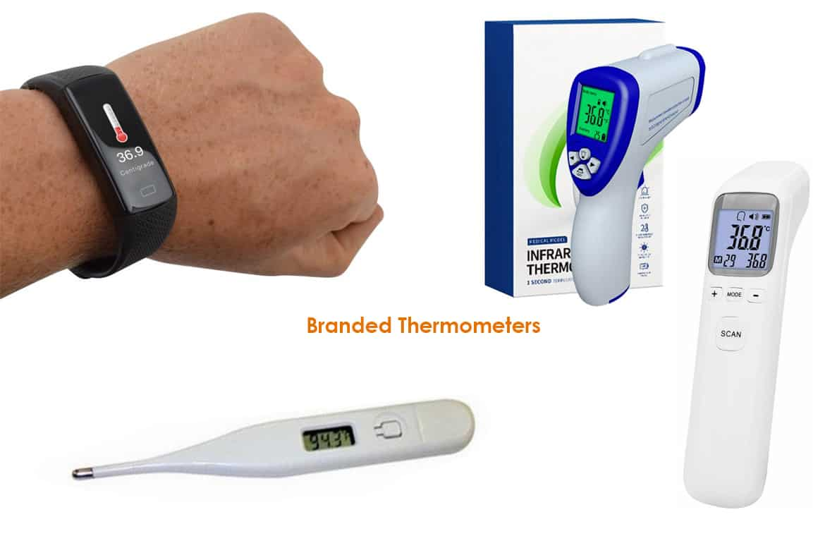 branded thermometers