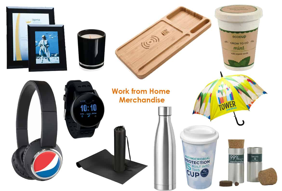 work from home merchandise