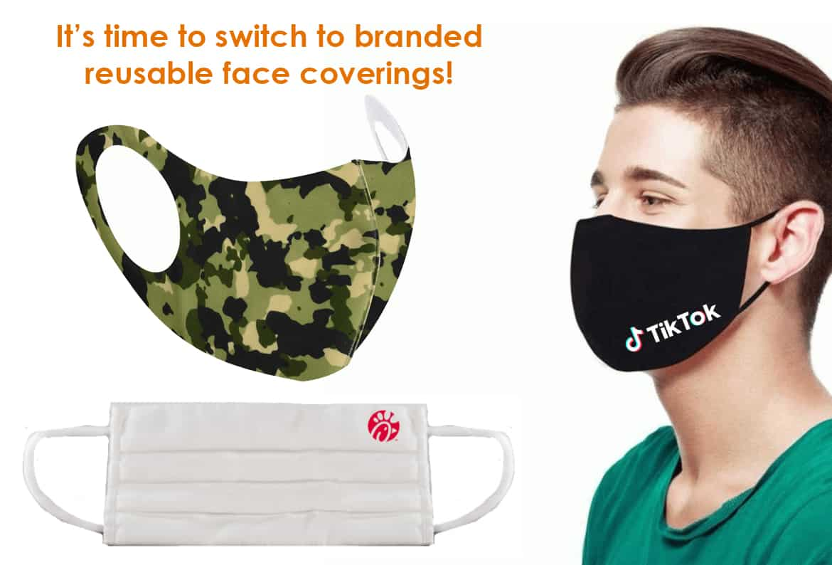 Branded Reusable Face Coverings