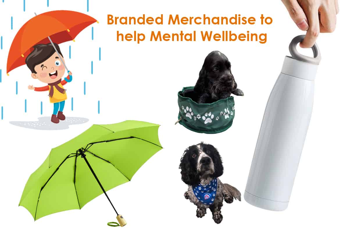 branded merchandise to help mental wellbeing