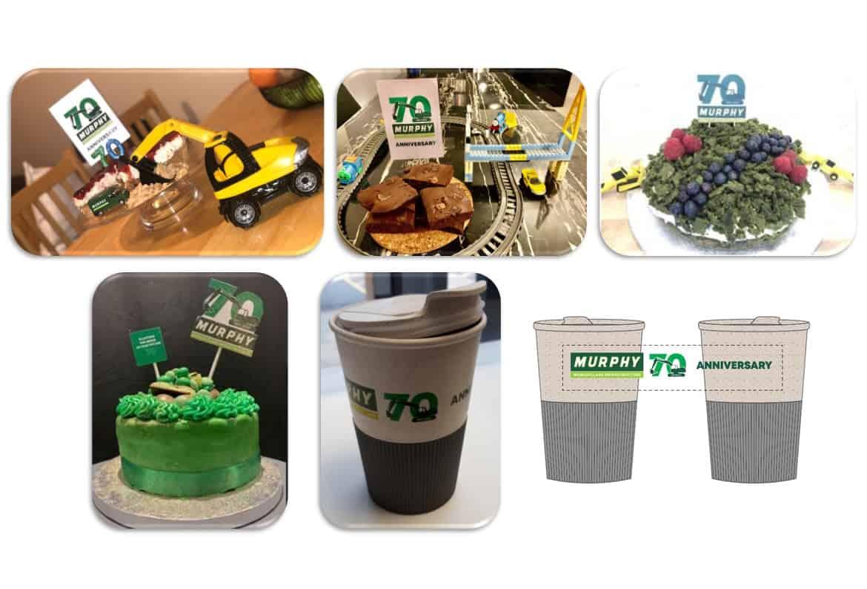J Murphy & Sons' 70th Anniversary Merchandise