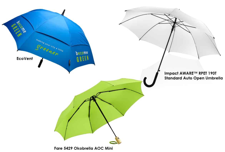branded eco-friendly umbrellas